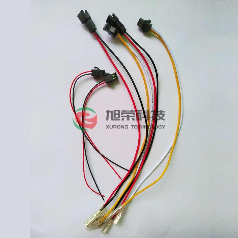 UL-1007  22-SM配-110铜插片端子线